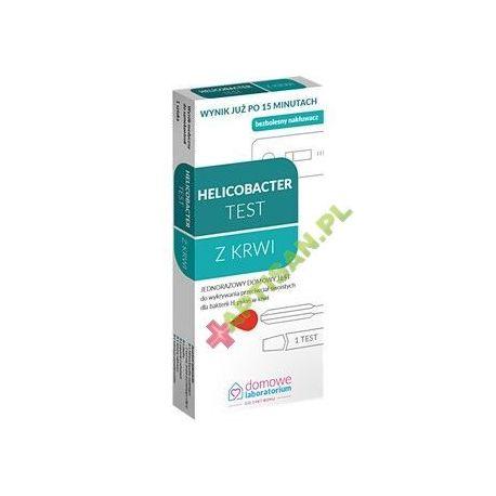 Domowe Laboratorium * Test Helicobacter - wykrywający Helicobacter Pylori * 1 sztuka