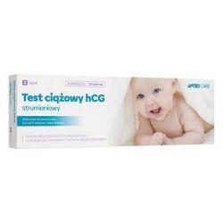APTEO CARE * Test ciążowy - HCG strumieniowy * 1 sztuka