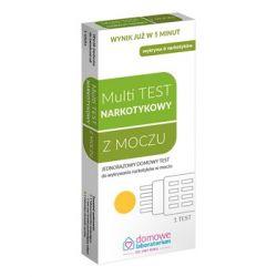Multi Test do wykrywania narkotyków w moczu * 1 sztuka