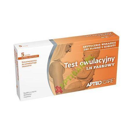 APTEO CARE * Test owulacyjny - LH paskowy * 5 testów