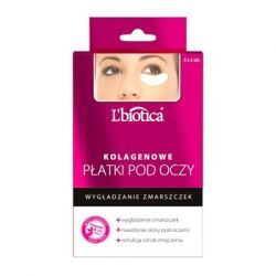 L`Biotica * Kolagenowe płatki pod oczy - wygładzenie zmarszczek * 3 x 2 sztuki