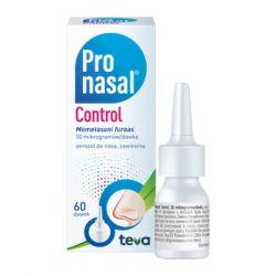Pronasal Control * 50 mcg/dawkę - aerozol do nosa * 60 dawek