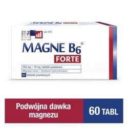 Magne B6 Forte * 60 tabletek powlekanych