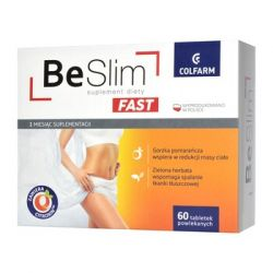 Be Slim Fast * 60 tabletek powlekanych