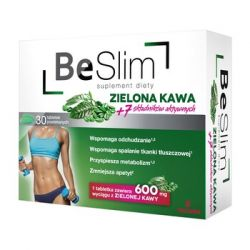 Be Slim zielona kawa * 30 tabletek powlekanych