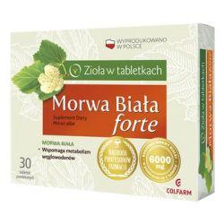 Morwa Biała Forte * 30 tabletek powlekanych