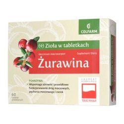 Żurawina * 60 tabletek powlekanych