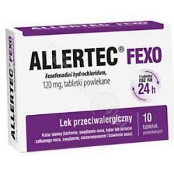 Allertec Fexo 120mg * 10 tabletek