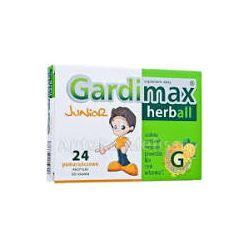 Gardimax Herbal Junior * pastylki do ssania * 24 sztuki