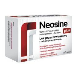 Neosine Plus * 500 mg + 3,125 mg Zn2 * 50 tabletek