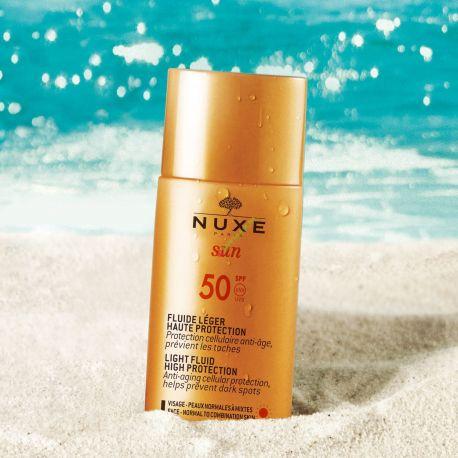 Nuxe * Sun - Lekki fluid o wysokiej ochronie SPF50 * 50 ml