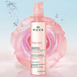 Nuxe Very Rose * Delikatny olejek do demakijażu * 150 ml