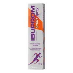 Ibuprom Sport * Spray 50 mg/g - aerozol na skórę * 50 g