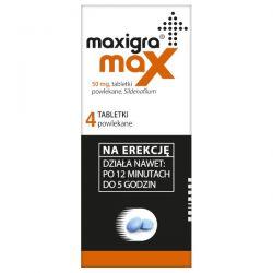 Maxigra Max * 50 mg * 2 tabletki