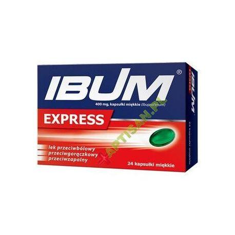 Ibum Express * 400 mg * 24 kapsułki miękkie