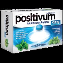 Positivum Sen * Tabletki uspokajające * 6 x 30 tabletek