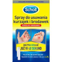 Scholl * Spray do usuwania kurzajek i brodawek * 80 ml