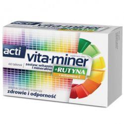Acti Vita- Miner + Rutyna * 60 tabletek