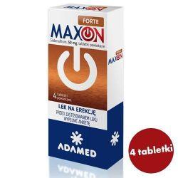 Maxon Forte * 50 mg * 4 tabletki