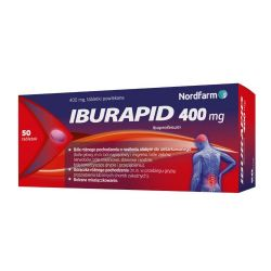 Iburapid * 400 mg ibuprofenu * 50 tabletek