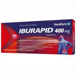 Iburapid * 400 mg ibuprofenu * 20 tabletek