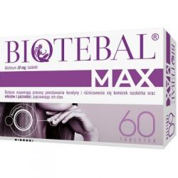 Biotebal Max 50 mg * 60 tabletek