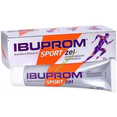 Ibuprom Sport Żel 50 mg / g * żel * 100 g