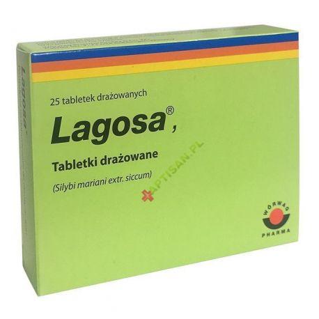 Lagosa * 0,15 g * 25 tabletek