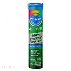 Plusssz Active Energy Complex * tabletki musujące * 20 sztuk