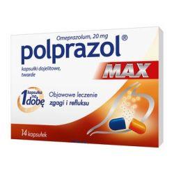 Polprazol Max * 20 mg * 14 kapsułek