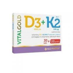 D3 + K2 Vitalgold * 40 tabletek