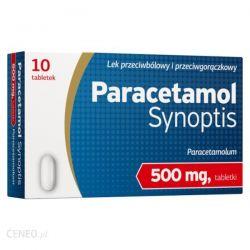 Paracetamol Synoptis* 0,5 g - 10 tabletek