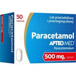 Paracetamol Synoptis * 0,5 g- 50 tabletek