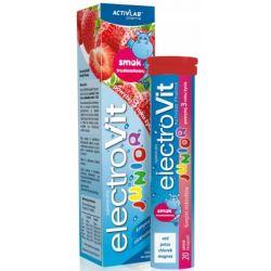 ElektroVit Junior * elektrolity o smaku truskawkowym * 20 tabletek rozpuszczalnych