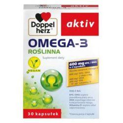 Doppelherz Aktiv * Omega 3 Roślinna * 30 kapsułek