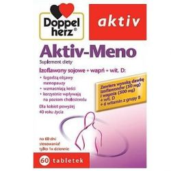 Doppelherz Aktiv * Aktiv -Meno * 60 tabletek