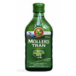 Moller's Tran Norweski - naturalny* 250 ml
