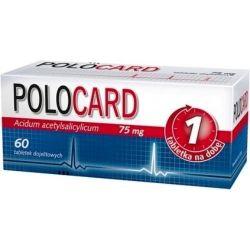 Polocard 75 mg * 60 tabl