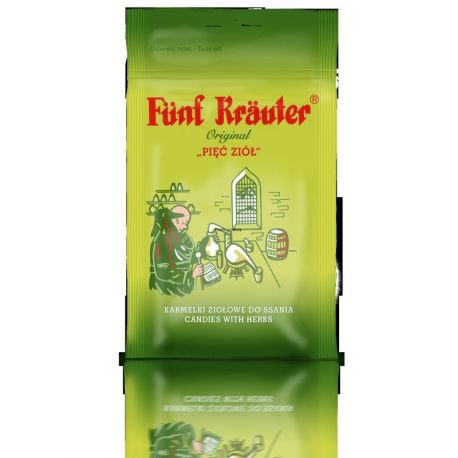 Karmelki Funf Krauter- pięć ziól * 60 g