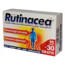 Rutinacea Complete * Wspomaga odporność * 90 tabl * + 30 tabl. GRATIS !