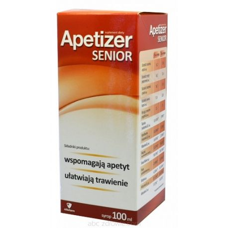 Apetizer senior - syrop * 100 ml