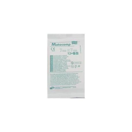 Matocomp * Kompresy jałowe 12-nitkowe 7x7 cm * 1 opak.- 3 szt