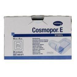 Opatrunek Cosmopor E * Plastry jałowe rozm 10  X 6 cm -  25 szt