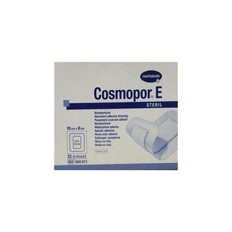 Opatrunek Cosmopor E-plastry jałowe * rozm 10 X 8 cm - 25 szt