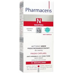 Pharmaceris N Magni - Capilaril * Krem przeciwzmarszczkowy * 50 ml