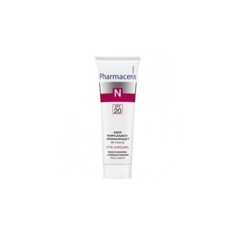 Pharmaceris N Vita-Capilaril * Krem nawilżająco-wzmacniający do twarzy * 50 ml