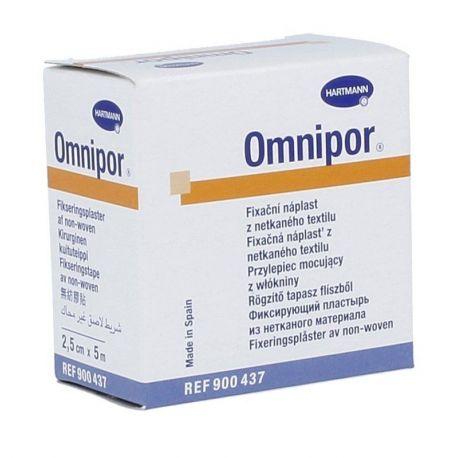 Omnipor - Plaster * 2,5 cm x 5 m - 1 szt