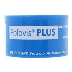 Polovis Plus - Plaster * 5m x 2,5 cm na kółku - 1 szt