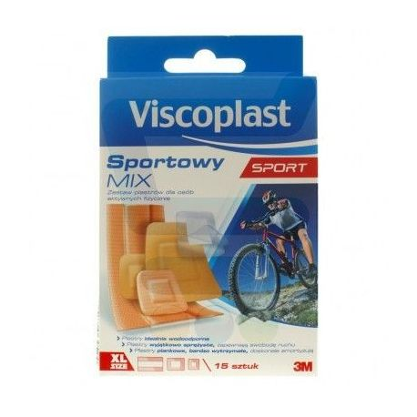 Visciplast - Plastry *  Zestaw Sportowy Mix *  15 szt