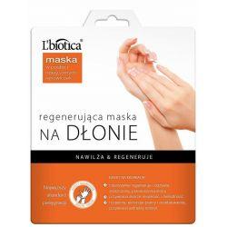 L Biotica * Regenerująca maska na dłonie *  Nasączone rękawiczki * 1  para